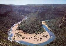 07 - cpsm - Les gorges de l'Ardèche - Boucle de Gaud