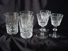 6 PIECES REGENT by ROYAL BRIERLEY CUT GLASSES