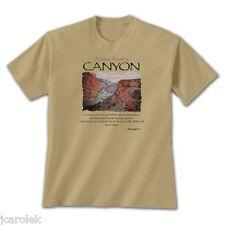 T-shirt Advice Canyon Unisex Tan Gildan Various Sizes 100% Cotton S M L XL 2XL