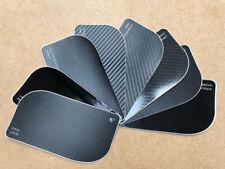 Black Vinyl Wrap Carbon Fibre 4D 3D Glossy Matte Chrome Sanded Brushed Pearl