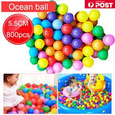 50-800x Kids Baby Swim Pit Toy Colorful Ball Fun Ball Soft Plastic Ocean Ball