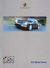 PORSCHE 911 Approvato AUTO USATE specifica di modifiche 1993-2000 UK Opuscolo