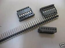 Lot de 10 Connecteur Femelle 7pts pas 2.54mm pour barre