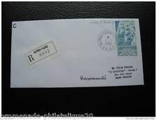 TAAF lettre 1/1/95 - timbre Yvert et Tellier n°202