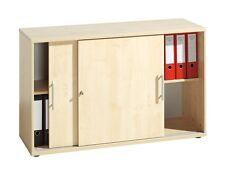 Aktenschrank Schrank Ahorn Schiebetürenschrank Büroschrank Sideboard Büromöbel