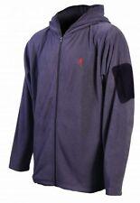 Browning Men's Hooded Fleece Jacket w/ Sleeve Pocket Mens  BRI0028 Charcoal