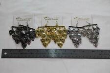 Rings Fashion Jewelry Gold/Silver/Gunmetal Chandelier Style Multi-Color Ear