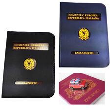 Custodia Passaporto Porta Documento Internazionale Protezione Cover Aereo 625