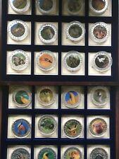 5M4) Liberia 10 Dollar 2002 PP CU versilbert freie Auswahl, African Wildlife