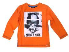 MEXX Niños Camisa Vibrante Naranja Talla 98/104 110/116 122/128