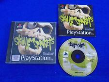 ps1 SKULLMONKEYS Rare Game Boxed PAL ps2 ps3