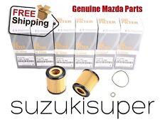 10 Set Genuine MAZDA  Oil Filter Element Kit L321-14-302