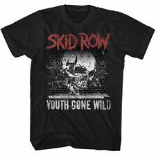 Skid Row - Grafiti Ido Salvaje - Americano Classics - Camiseta Adulto