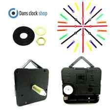Replacement Extra Long Quartz Clock Movement Mechanism 26mm Shaft Coloured Hand