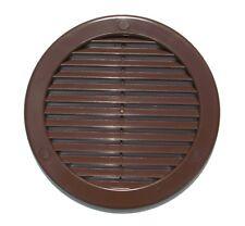 marron cercle grille ventilateur 100mm 125mm 150mm 200mm conduit Couvercle de