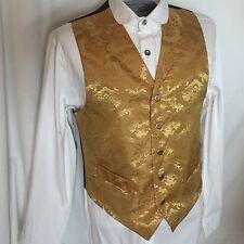 Men's Western Gold Reno Frontier Classic Dress Vest, S-XXXL