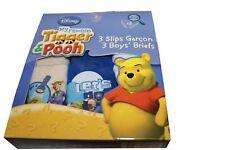 3 pairs boys Disney Tigger and Pooh briefs.