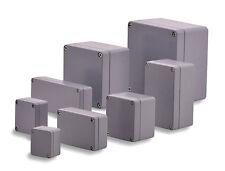 BOXEXPERT Aluminium Industriegehäuse Serie Alster IP 66 grau RAL7001 Box Kasten