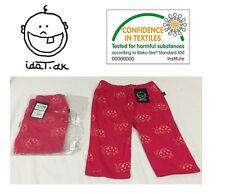 I DAT .DK DESIGNER BABY CHILDRENS  CLOTHES LADY BIRD 3/4  GIRLS PINK LEGGINGS