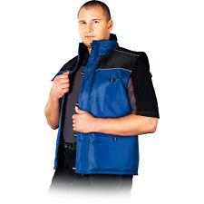 Arbeitsweste Weste Berufsweste Arbeitskleidung Blau Schwarz Gr. M - XXXL NEU TOP
