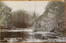 1920 Realphoto PC - Copper Falls - Mellen, Wisconsin WI