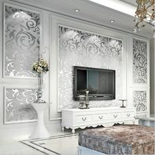 3D Modern Gloss WallPaper Roll Background for Living Room & Bedroom Home Decor