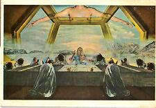 "Last Supper Print Card on Woodboard 4 1/4"" x 6"" Unique, Sturdy"