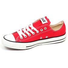 E8570 sneaker uomo CONVERSE (RED) ALL STAR shoe man unisex
