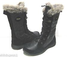 Teva Lenawee WP Black Women Boots US7/UK5/EU38/JP24
