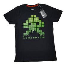 Joystick Junkies officiel, nous sommes le code Rétro Arcade Space Invaders T-Shirt