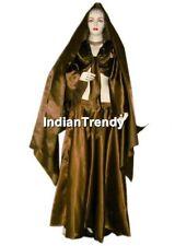 27 Color Satin Skirt + Top + Veil Belly Dance Costume Tribal 4.5 Yard Hem Dress