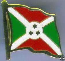 République du Burundi Flag Lapel / Hat Pin NEW