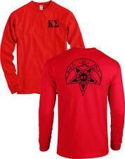 Kappa Sigma Fraternity Badge Long Sleeve Kappa Sig Shirt - MORE COLORS
