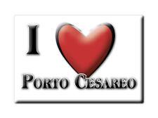 CALAMITA PUGLIA FRIDGE MAGNET MAGNETE SOUVENIR LOVE PORTO CESAREO (LE)