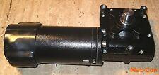 Schneckengetriebemotor worm geared e-motor 350W 12V/24V 60Nm 20U/min 20mm Welle