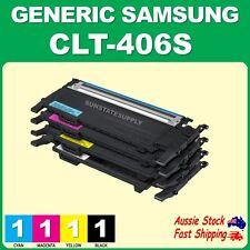 4x CLT406 CLTK406S CLT406S 406S Toner for Xpress SL -C410W C460W C460FW CLTC406S