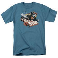 Superman Steel Mens Short Sleeve Shirt