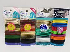 Goody Ouchless Elastic Hair Ties U-Pick Colors 27 pc set