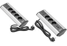 Tischsteckdose Ecksteckdose 3 4fach USB Bodensteckdose Küchensteckdose Steckdose
