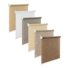Persiana de ventana natural colores Bambú óptica Gris Blanco Beige Marrón Gris