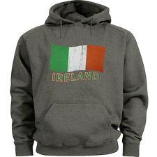 Ireland sweatshirt hoodie Men's size Irish flag sweatshirt hoody sweats hoodie