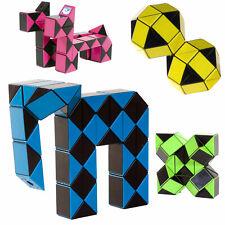 CLOWN MAGIC Snake Zauber Würfel 3D Puzzle Schlange Kinder Spiel Rubik Cube Twist