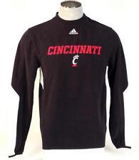 Adidas ClimaWarm Cincinnati Bearcats Black Long Sleeve Fleece Shirt Mens NWT