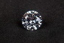 Loose moissanite Stone F Color Round Brilliant Cut Excellent Grade VVS White