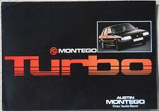 MG Montego Turbo 1977c brochure