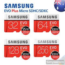 SAMSUNG EVO PLUS micro SDHC SDXC 32GB 64GB 128GB 256GB 4K microSD TF Card 100M/S