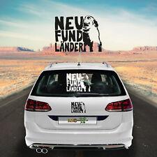 Autoaufkleber Neufundländer M1 Aufkleber fürs Auto Sticker Hundeaufkleber