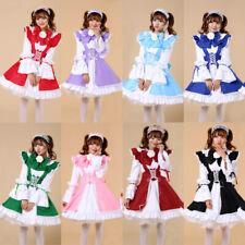 Lolita Classic Apron Dress Maid Outfits Meidofuku Uniform Cosplay Costumes