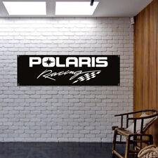 POLARIS Racing Banner Vinyl or Canvas Advertising Garage Sign Poster MANY SIZES