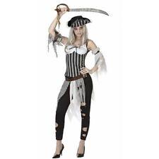 Pirata Zombie donna costume Halloween travestimento Horror corsara carnevale